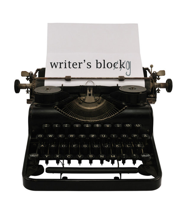 Writer's block blog